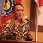 Menpora Zainudin Amali membuka Rapat Kerja Nasional (Rakernas) Ikatan Sarjana Olahraga Indonesia (ISORI) yang juga bertepatan dengaN HUT ke-52 tahun di Gedung Rektorat Universitas Negeri Yogyakarta