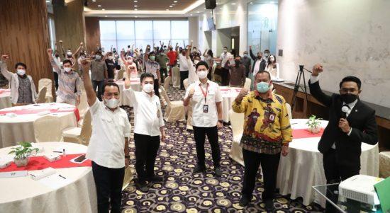 Kementerian Pemuda dan Olahraga Republik Indonesia (Kemenpora RI) melalui Biro Hubungan Masyarakat (Humas) dan Hukum menggelar kegiatan Media Gathering dengan tema 'Indonesia Menuju Olimpiade Tokyo 2021' di Hotel Grand Mercure Jakarta Harmoni, Selasa (4/5) siang
