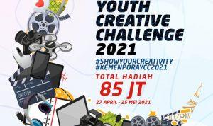 Kemenpora Gelar Youth Creative Challenge 2021