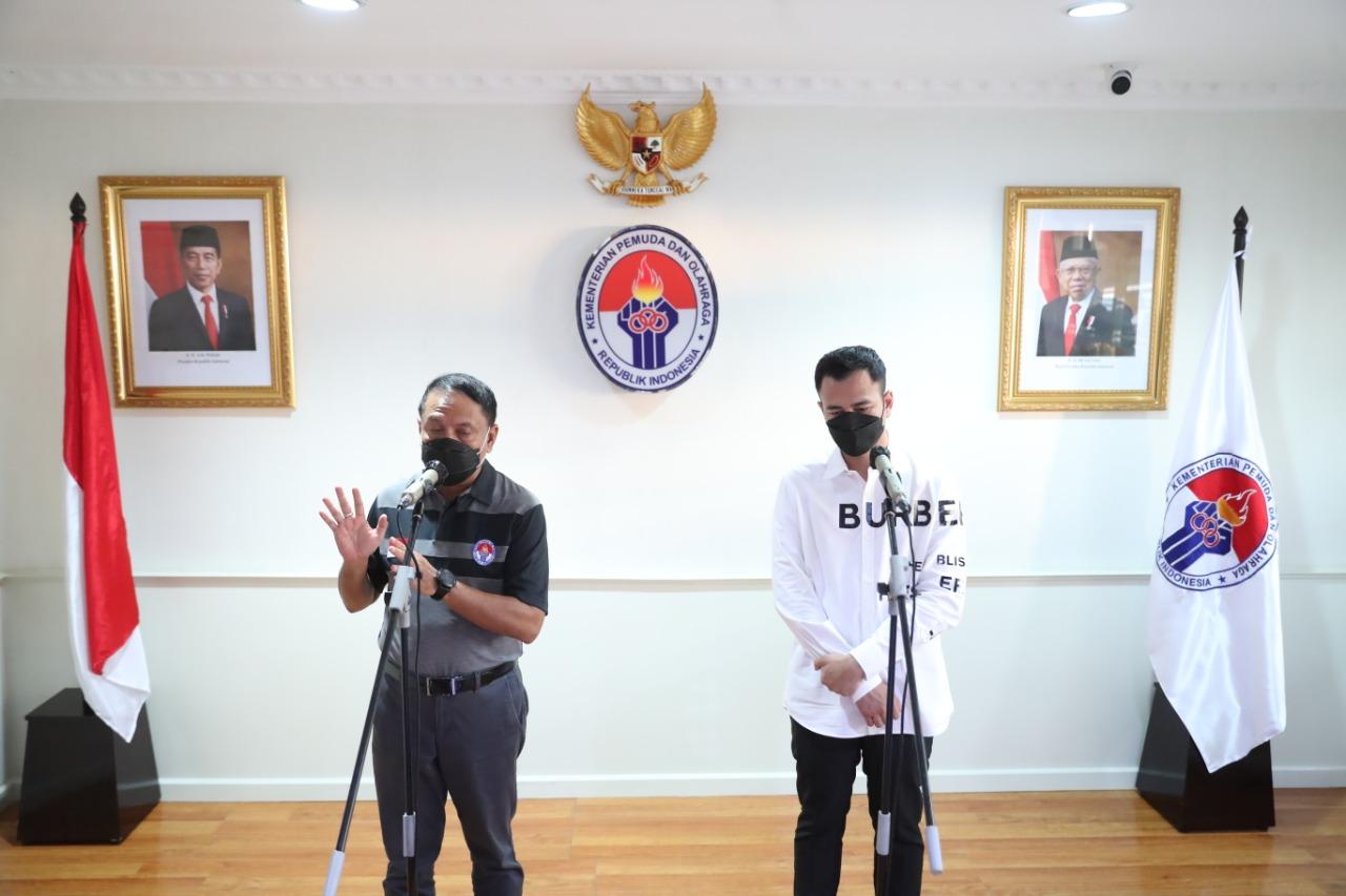 Menpora Zainudin Amali & Raffi Ahmad