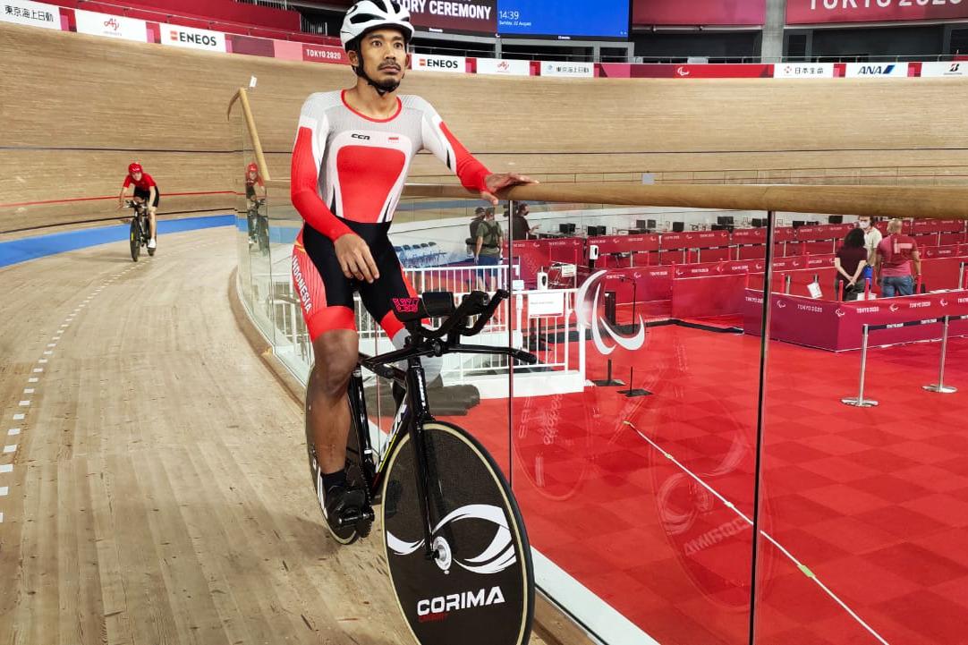 Muhammad Fadli atlet para balap sepeda Matangkan Persiapan