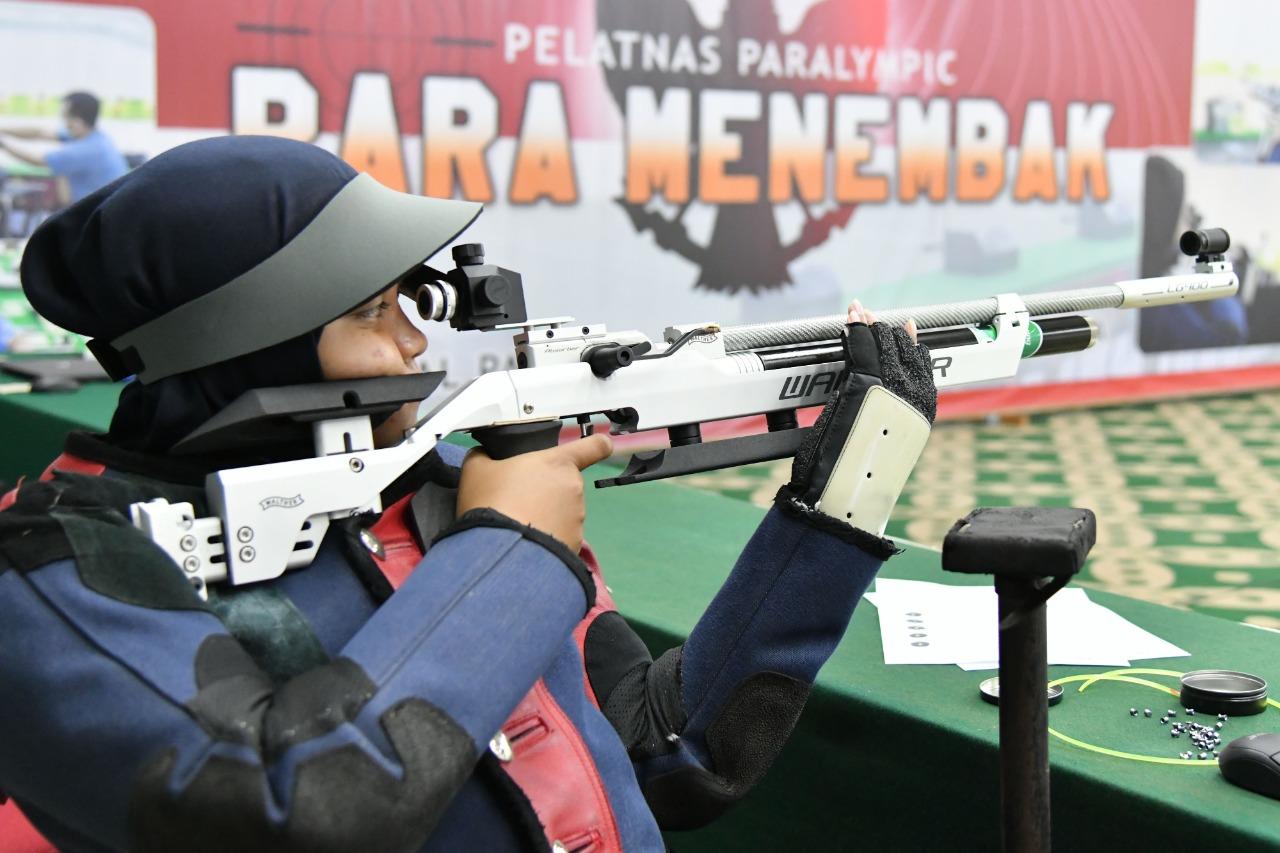 Para Menembak Indonesia Siapkan Mental