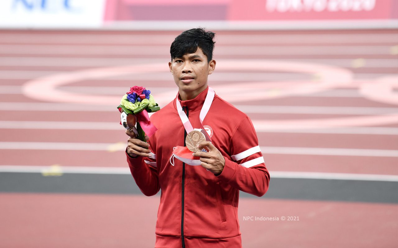 Atlet Para Atletik Saptoyogo Berhasil Sumbang