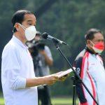 Presiden Jokowi : Leani Ratri Oktila Patriot Olahraga Indonesia