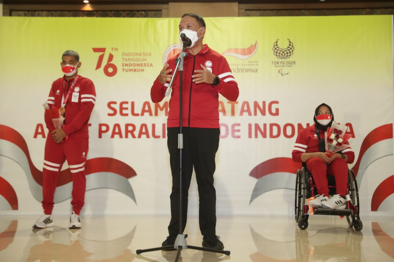 Menpora Zainudin Amali Sambut Kedatangan Patriot Olahraga Indonesia