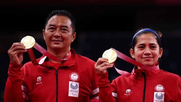 Hary Susanto/Leani Ratri Ukir Emas Kedua untuk Indonesia di Paralimpiade Tokyo 2020